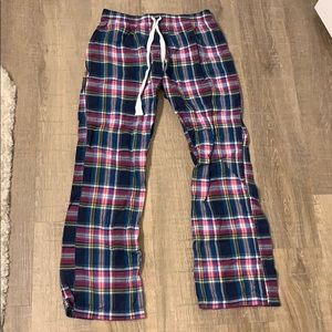 Plaid pajama pants